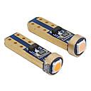 povoljno Auto unutrašnja svjetla-10pcs t5 vodio w3w w1.2w unutrašnjosti automobila 1 smd dc 12v super svijetle 3030 vodio auto nadzorna ploča zagrijavanje pokazatelj auto instrument lampa