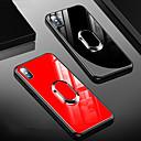 halpa iPhone kotelot-Etui Käyttötarkoitus Apple iPhone XS / iPhone XR / iPhone XS Max Iskunkestävä / Tuella / Sormuksen pidike Takakuori Yhtenäinen Kova TPU / Karkaistu lasi