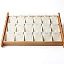 Недорогие Шкатулки для украшений-Место хранения организация Ювелирная коллекция деревянный Нерегулярная форма Творчество / Оригинальные