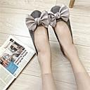 hesapli Kadın Sandaletleri-Kadın's Mokasen & Bağcıksız Ayakkabılar Düz Taban Süet / PU Sonbahar / İlkbahar yaz Siyah / Yeşil / Kırmzı