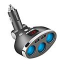 halpa Autolaturit-3-tie multi-auton savukkeensytyttimen pistokkeen jatkoyksikön usb-laturi dc12v