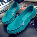 hesapli Kadın Babetleri-Kadın's Mokasen & Bağcıksız Ayakkabılar Düz Taban PU İlkbahar yaz Sarı / Fuşya / Yeşil
