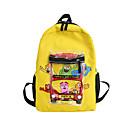 hesapli Çanta Setleri-Büyük Kapasite Oxford Bezi Fermuar Okul Çantası Karakter Okul Siyah / YAKUT / Sarı / Sonbahar Kış