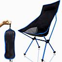 povoljno Namještaj za kampiranje-Kamperska sklopiva stolica Visoka leđa s naslonom za glavu Prozračnost Ultra Light (UL) Može se sklopiti Kompaktan Mrežica 7075 Aluminijska legura za 1 osoba Ribolov Pješačenje Kampiranje Pasti