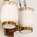 זול מחזיק מברשות שיניים-מחזיק למברשת שיניים יצירתי עכשווי פליז 1pc מותקן על הקיר
