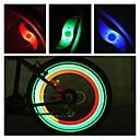 povoljno Ukrasi i zaštita automobila-LED Svjetla za bicikle sigurnosna svjetla svjetla kotača Svjetla za vožnju bicikla Brdski biciklizam Biciklizam Vodootporno Višestruka načina Alarm CR2032 Baterija Biciklizam Motocikl / IPX-4