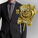 hesapli Düğün Çiçekleri-Düğün Çiçekleri Boutonnieres Düğün / Düğün Partisi Grogen / Alüminyum-magnezyum alaşımı 0-10 cm