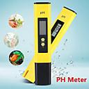 hesapli Test Cihazları ve Dedektörler-Taşınabilir lcd dijital ph metre cihazı aracı şarap su havuzu akvaryum kalem ph