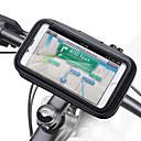 זול אירגוניות לרכב-מחזיק טלפון לאופנוע כידון רוכסן אביזרי עור pu עמיד למים
