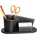 hesapli Organizasyon-PU Deri Yaratıcı Ev organizasyon, 1pc Kalem Tutucuları & Kılıflar