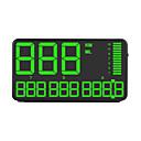 Недорогие Дисплей на лобовое стекло-Ziqiao CZZJ C90 5,5-дюймовый GPS-спидометр HUD дисплей GPS Head Up спидометр автомобиля грузовик одометр с предупреждением о превышении скорости автомобильные часы