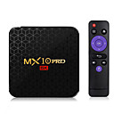 abordables Caja de TV-mx10 pro smart tv box android 9.0 4gb ram 32gb rom 2.4g 5g wifi set top box allwinner h6 quad core h.265 6k hdr reproductor multimedia