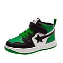 זול נעלי ספורט לילדים-בנים / בנות נוחות סינטטיים נעלי ספורט ילדים קטנים (4-7) / ילדים גדולים (7 שנים +) שחור / אדום / ירוק סתיו / קולור בלוק / גומי תרמופלסטי TPR