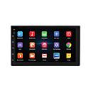 Недорогие DVD плееры для авто-7 '' android 8.1 двойной 2 din 16g четырехъядерный gps автомобильная стерео mp5 плеер fm камера заднего вида
