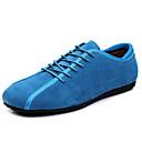 halpa Miesten Oxford-kengät-Miesten Nahkakengät PU Kesä Oxford-kengät Musta / Sininen / Tumman sininen