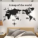 Недорогие Стикеры на стену-3d акриловый мир мапо