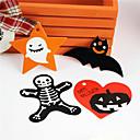 povoljno Naljepnice, etikete i privjesci-50pcs papirnatih etiketa za Halloween, ukrasnih ukrasnih etiketa, pribor za vještice