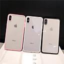 billige iPhone-etuier-Etui Til Apple iPhone XS / iPhone XR / iPhone XS Max Støvtett / Gjennomsiktig Bakdeksel Ensfarget PC
