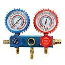 halpa Rengasmittarit-auto hvac r134a jäähdytys ilmastointi h / l jakoputki mittari asetettu kunnossapitotyökalut ac diagnoosi kylmäaine