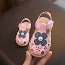 זול סנדלים לילדים-בנות נוחות מיקרופייבר סנדלים ילדים קטנים (4-7) ורוד קיץ