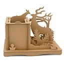 hesapli puzzle-Yapboz Elk Yaratıcı Ofis Masası Oyuncakları El-yapımı Hepsi Oyuncaklar Hediye
