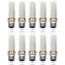 billige LED-kolbelamper-LOENDE 10pcs 9 W LED-kolbepærer 900 lm E26 / E27 T 80 LED Perler SMD 2835 Varm hvid Hvid 85-265 V