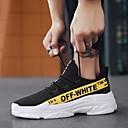 hesapli Erkek Atletik Ayakkabıları-Erkek Ayakkabı Örümcek Ağı Yaz Atletik Ayakkabılar Koşu Günlük için Beyaz / Sarı / Kırmzı