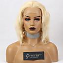 povoljno Perike s ljudskom kosom-Premierwigs perike od čipke bez sjaja brazilski Remy ljudska kosa plavuša ombre smeđa boja 150% gustoća tijela s preplucked prirodnom kosom za bebe