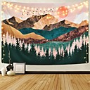 cheap Wall Tapestries-Garden Theme / Bohemian Theme Wall Decor 100% Polyester Modern Wall Art, Wall Tapestries Decoration