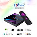 povoljno TV tuneri-h96 max pametni android 9.0 tv box rk3318 quad core 64 bit uhd 4k vp9 h.265 4gb / 64gb 2.4g / 5g wifi bt4.0 hd media player tv box