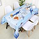 זול כיסויי שולחן-יום יומי סיבי פוליאסטר ריבוע כיסויי שולחן פרחוני מעוטר עמיד במים לוח קישוטים