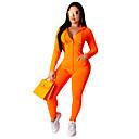 זול בגדי ריצה-בגדי ריקוד נשים חגורה גמישה אימונית חורף ריצה ספורט ייבוש מהיר רך חליפות בגדים לבוש אקטיבי מיקרו-אלסטי רגיל