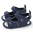 hesapli Çocuk Sandaletleri-Genç Erkek / Genç Kız Kanvas Sandaletler Bebekler (0-9m) / Bebek (9 milyon 4ys) İlk Adım Siyah / Badem / Beyaz Yaz