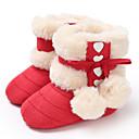 halpa Lasten saappaat-Tyttöjen Puuvilla Bootsit Vauvoilla (0-9m) / Taapero (9m-4ys) Ensikengät Musta / Valkoinen / Persikka Talvi