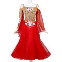 povoljno Svečana plesna odjeća-Klasični plesovi Haljine Žene Seksi blagdanski kostimi Spandex / Organza Kristali / Rhinestones Dugih rukava Haljina