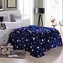 billige Tæpper ogplaider-Seng tæpper, Blomstret / Trykt mønster polyester Blød comfy dyner