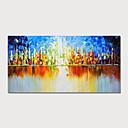 halpa Tulosteet-Hang-Painted öljymaalaus Maalattu - Abstrakti Maisema Moderni Sisällytä Inner Frame