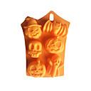זול תבניות לעוגות-6 חור רוח רפאים ליל כל הקדושים סיליקון עובש עוגת סיליקון ליל כל הקדושים עובש סבון תבניות אפיית פונדנט diy