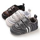 זול נעלי ספורט לילדים-בנים / בנות צעדים ראשונים סינטטיים נעלי ספורט תינוקות (0-9m) / פעוט (9m-4ys) לבן / שחור / אפור אביב / סתיו