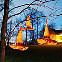 זול קישוט אורות-1 pc לילה אור כתום ליל כל הקדושים כובע מכשפה עם כובע מחודד עם אור led מפלגת תליון קוספליי כובע מכשפה אספקת שמלת מפואר
