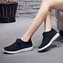 זול נעלי ספורט לנשים-בגדי ריקוד נשים נעלי אתלטיקה שטוח בוהן עגולה Tissage וולנט ספורטיבי רכיבת אופניים / הליכה קיץ & אביב / קיץ שחור / לבן / ורוד