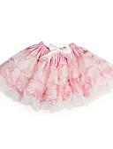 Χαμηλού Κόστους Φορέματα δεξίωσης γάμου-Γραμμή Α / Πριγκίπισσα Μέχρι το γόνατο Φόρεμα για Κοριτσάκι Λουλουδιών - Τούλι / Σαρμέζ Αμάνικο με Φιόγκος(οι) / Βολάν με / Άνοιξη / Καλοκαίρι / Χειμώνας
