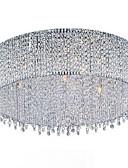 billige Cocktailkjoler-QINGMING® 10-Light Takplafond Krystall, Pære Inkludert, 110-120V / 220-240V Pære Inkludert / G9 / 50-60㎡