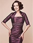 povoljno Stole za vjenčanje-Taft Vjenčanje / Party / večernja odjeća Ženski ogrtač S Drapirano Bolera