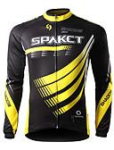 abordables Pantalones y Shorts de Hombre-SPAKCT Hombre Maillot de Ciclismo Bicicleta Camiseta / Maillot / Top Secado rápido, Resistente a los UV, Transpirable Rayas Ropa para