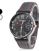 cheap Dress Watches-Men's Wrist Watch Japanese Casual Watch Silicone Band Charm Black / SSUO SR626SW