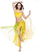 Χαμηλού Κόστους Ρούχα χορού της κοιλιάς-Χορός της κοιλιάς Φούστα Γυναικεία Εκπαίδευση Πολυεστέρας Χαμηλή Μέση Φούστα