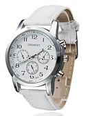 preiswerte Modische Uhren-Damen Armbanduhr Schlussverkauf PU Band Charme / Freizeit / Kleideruhr Schwarz / Weiß