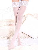 cheap Women's Lingerie-Women's Cotton Thin Stockings - Patchwork