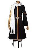 preiswerte Bauchtanzkleidung-Inspiriert von Fairy Tail Natsu Dragneel Anime Cosplay Kostüme Cosplay Kostüme Patchwork Mantel / Hosen / Gürtel Für Herrn / Damen Halloween Kostüme